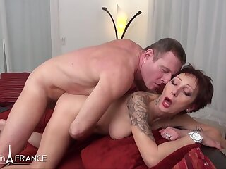 NudeInFrance - Catalya - Sexy big titted unfaithful and