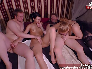 German swinger couple party party