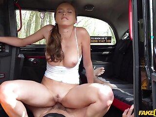 Dude with a stiff dick fucks slanderous amateur slut Stacy Cruz