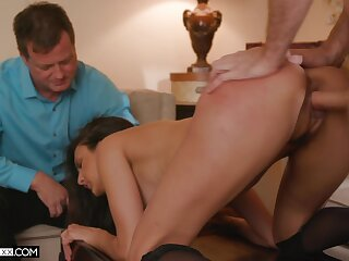 Smashing in one's birthday suit cuckold porn suits the slim doll everywhere perfect orgasms