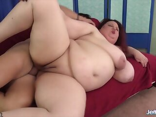 BBWs enjoy their assholes obtaining fucked deep and abiding give many positions