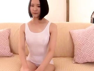 Japanese girl lost a bet and masturbate in fast food