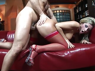 Premium blonde bends over for as A much dong as A possible